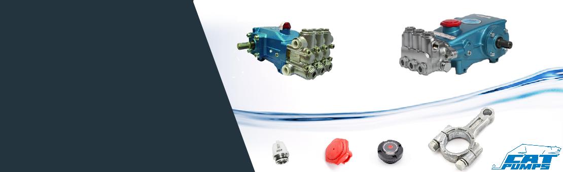 Surpresseurs CAT Retrouvez les pièces détachées nécessaires à la maintenance ou la réparation des pompes haute-pression de votre centre de lavage.